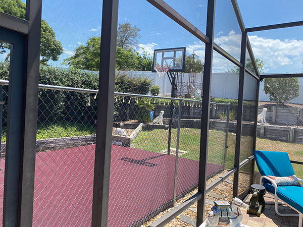 Customer review image of  in Backyard court