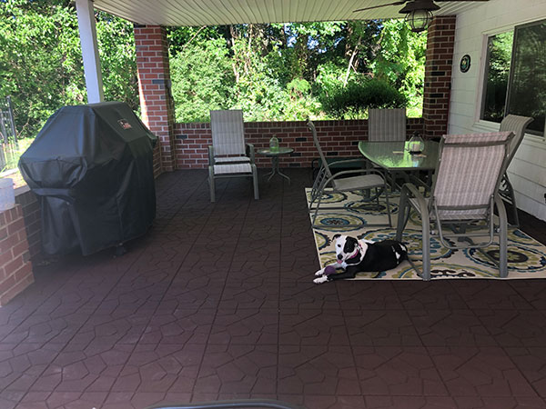 Customer review image of  in Back porch