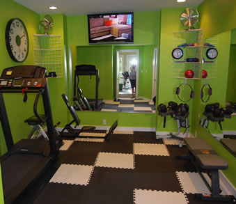 Home Gym Flooring - Customer