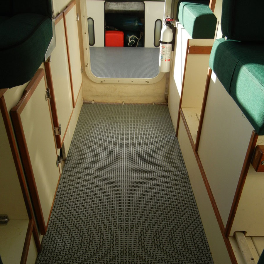 Customer review image of  in 22' C Dory Cabin and Cockpit