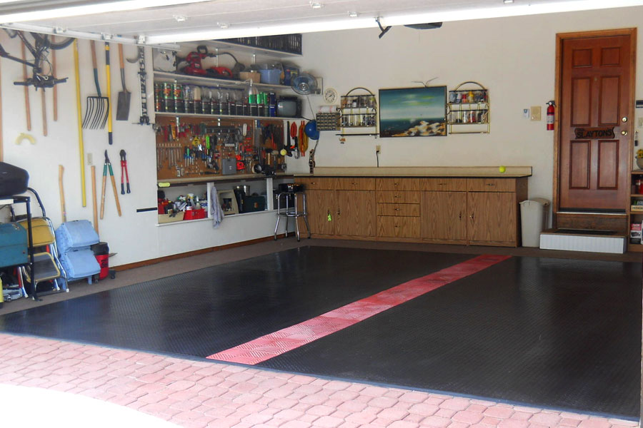 Customer review image of  in Two car home garage