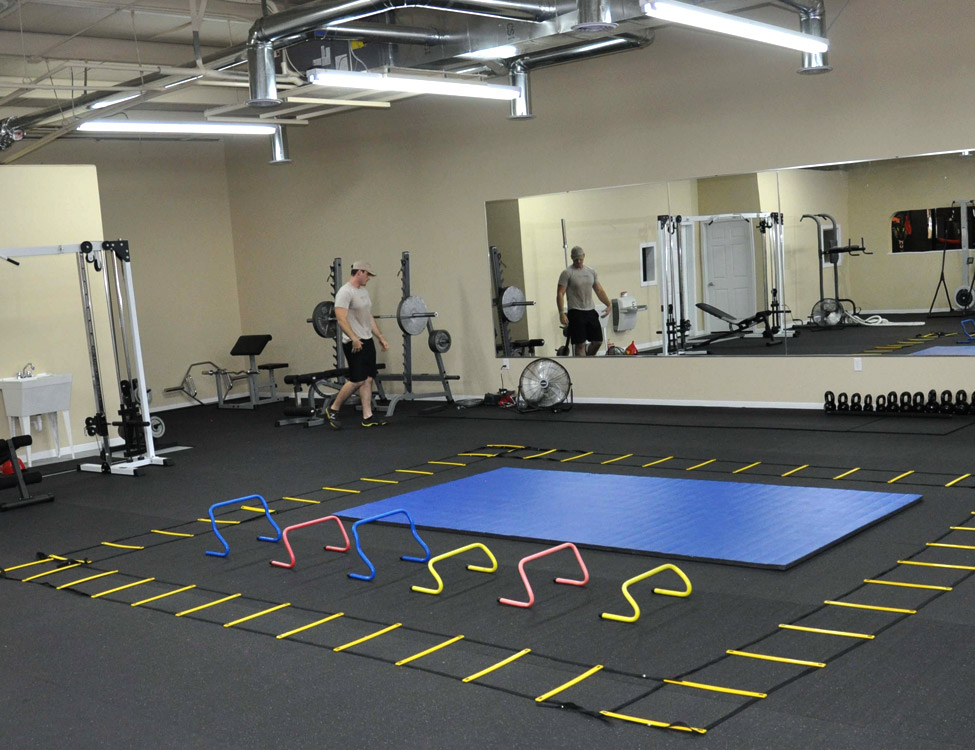 Customer review image of  in Small 2400 sf Commercial Gym