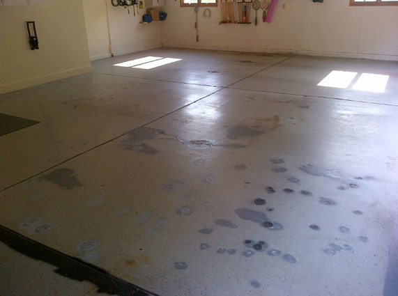 Customer review image of  in 3 car garage