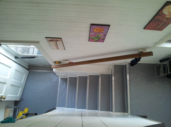 Customer review image of  in Basement Stairs, Hallway, Stairs
