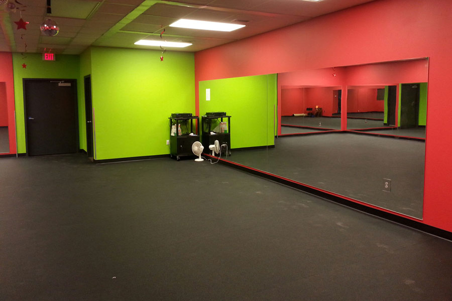 Customer review image of  in Aerobics room in Commercial Fitness Center