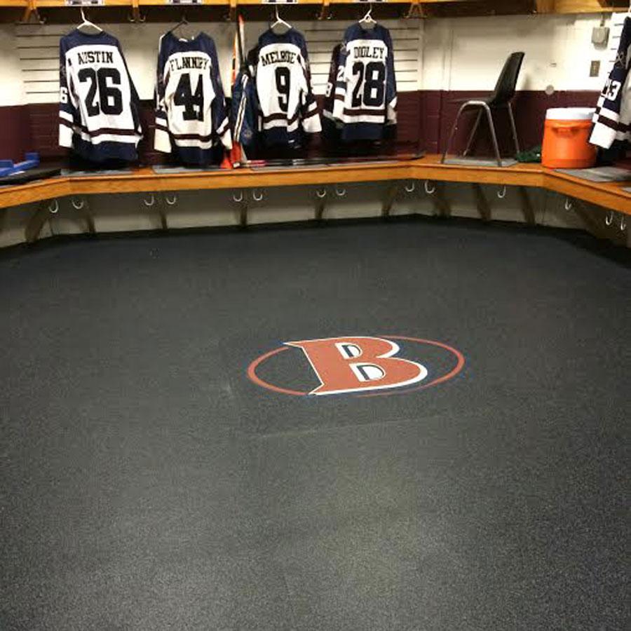 Customer review image of  in Varsity Hockey Team Locker Room