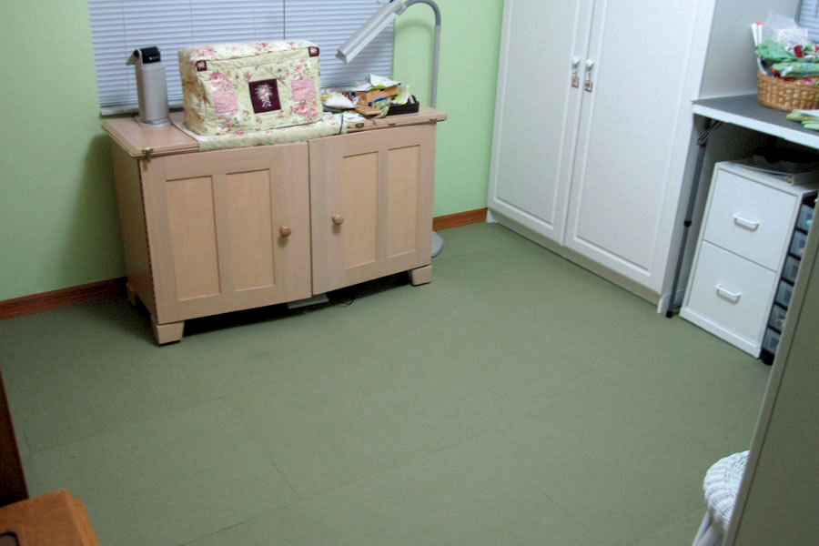 Customer review image of  in sewing room (bedroom)