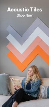 save 25% off acoustic tiles